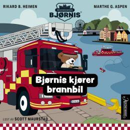 Bjørnis kjører brannbil