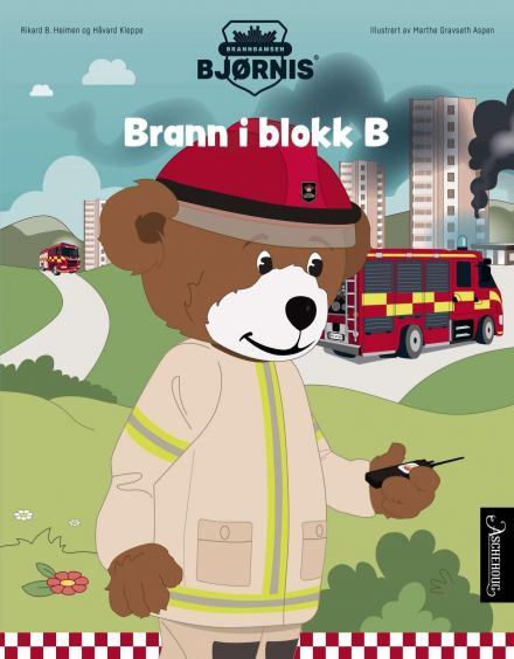 Brann i blokk B